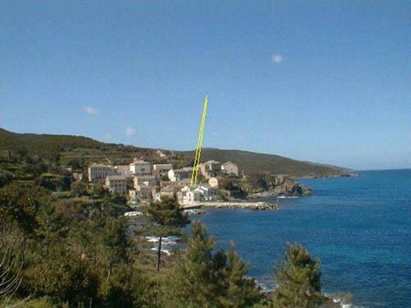 Porticciolo: A 15 mètres de l'eau, dans un village de rêve, la mer à la campagne, holiday rental in Pietracorbara