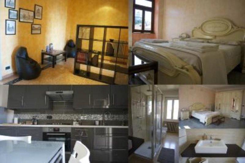 Appartamento signorile in centralissima zona residenziale, appena ristrutturato – semesterbostad i Chieri