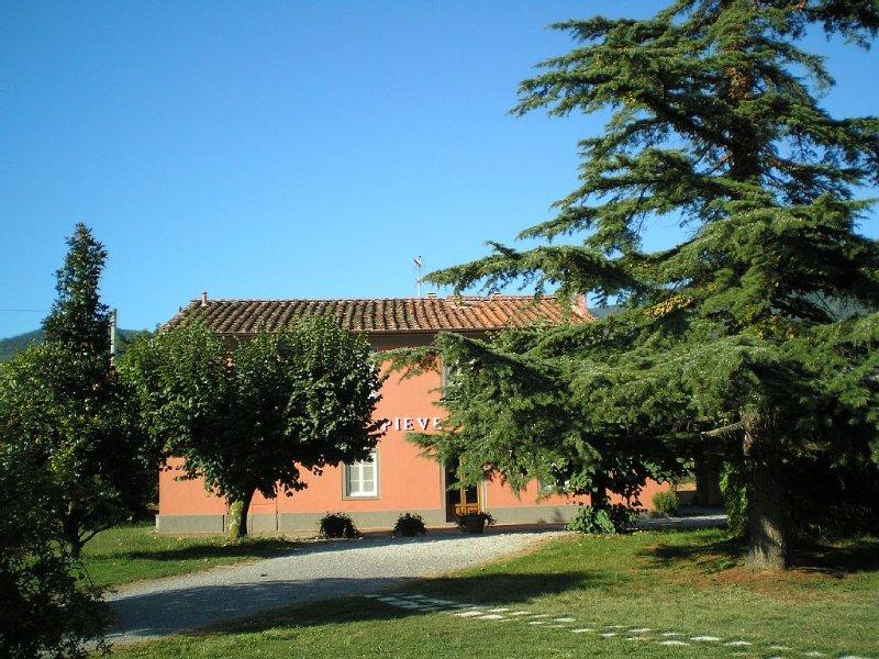 Quiete, relax e privacy nella campagna lucchese.Piscina e aria condizionata., location de vacances à Ciciana