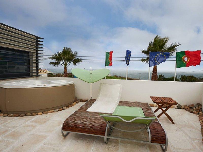 COXOS SPA & LOUNGE just Coxos Beach, holiday rental in Casais de Sao Lourenco