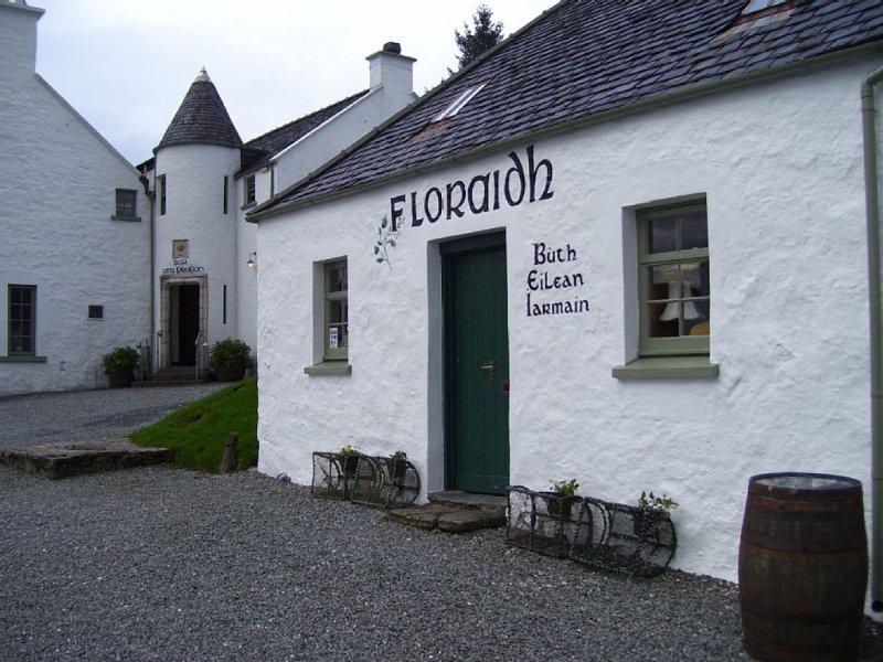 The Floraidh Boutique and Am Praban Bar - a few minutes walk away