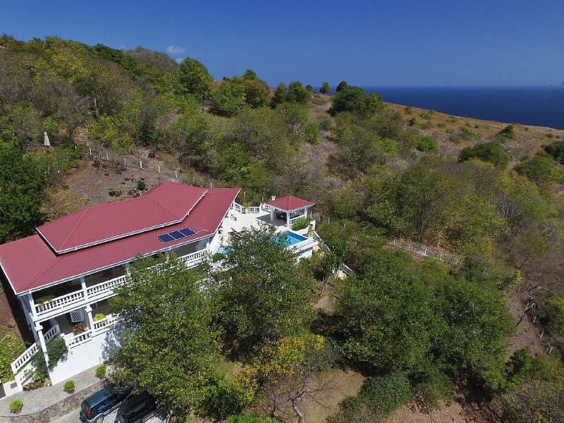 Whispers Villa, Bequia - Nothing obstructs the views