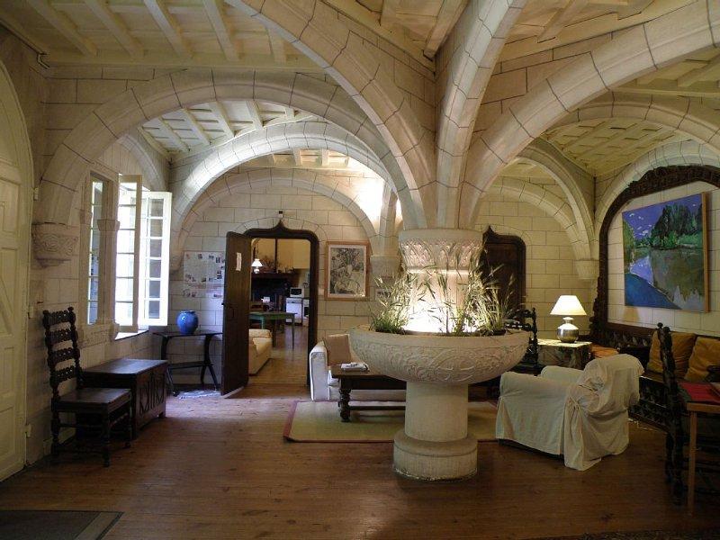 Laurede: Appartement dans Château de charme 1900., holiday rental in Lahosse