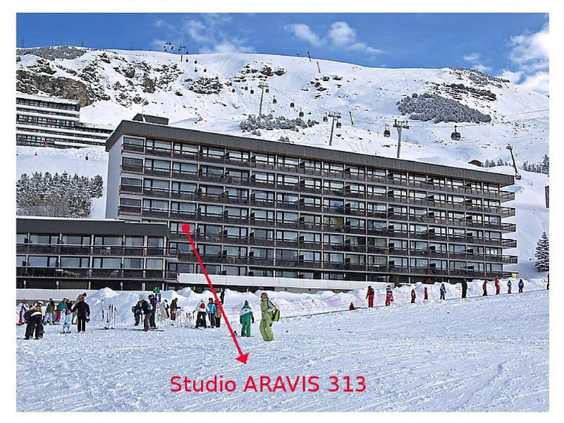 NEW: Beautiful studio on the Croisette - Foot of slopes (3 gold flakes), holiday rental in Saint-Martin-de-Belleville