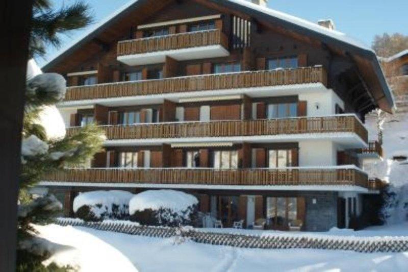 Appartement  (max 6 pers) met optioneel direct naastgelegen studio (max 4 pers), location de vacances à Veysonnaz