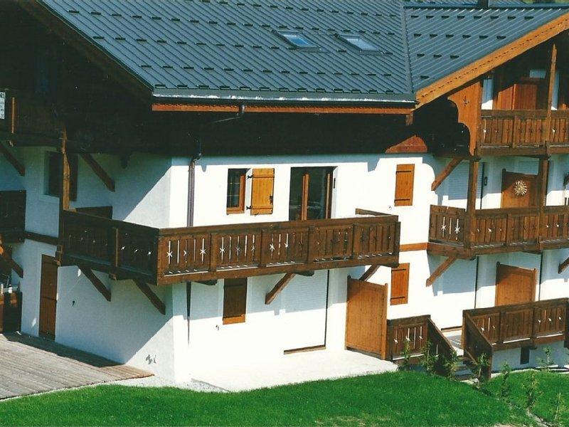 Appartement 4 à 6 personnes 34 m² Praz sur Arly, location de vacances à Praz Sur Arly