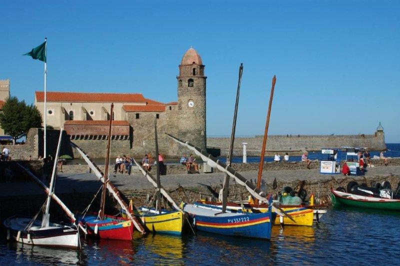 Photo touristique de Collioure