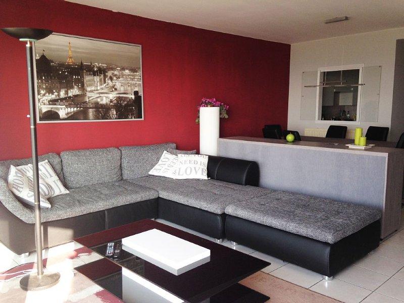 Le zoute - Appt 3ch vue mer avec garage, holiday rental in Retranchement