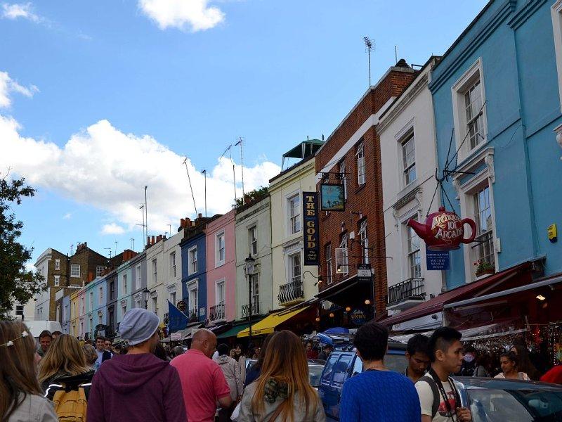 Portobello Road on market day