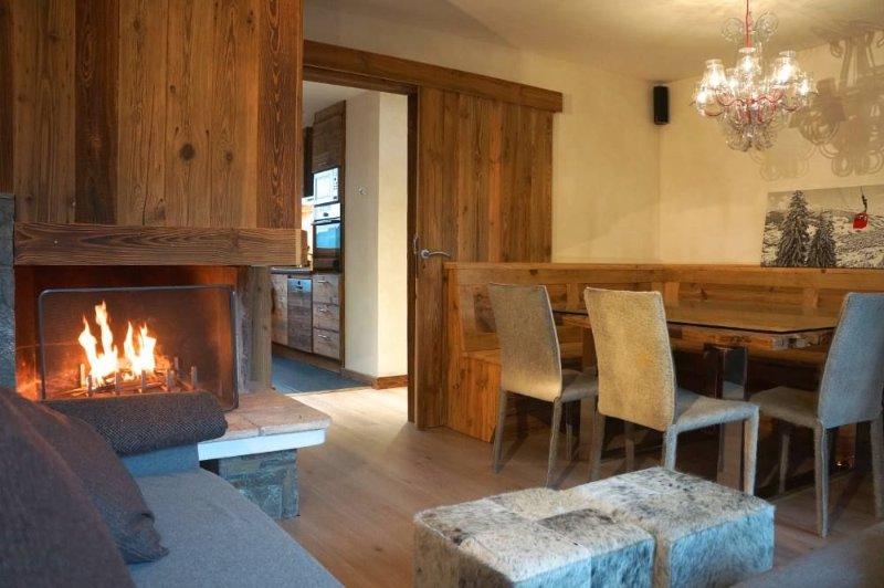 Rochebrune appartement de charme proche centre village idéalement situé., alquiler vacacional en Megève