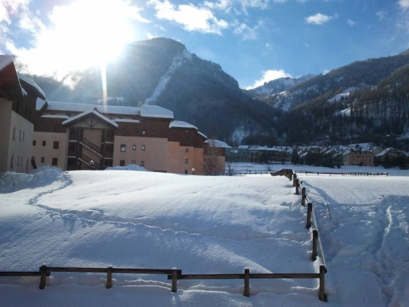 Serre Chevalier 1400 Residence Standing Alpaga 2 chambres, holiday rental in La Salle les Alpes