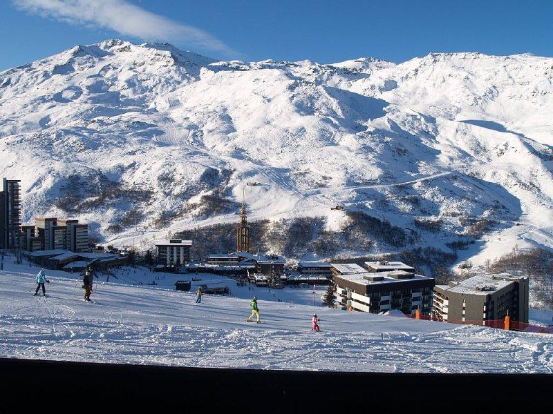 Départ skis aux pieds - Vue dégagée – semesterbostad i Saint-Martin-de-Belleville