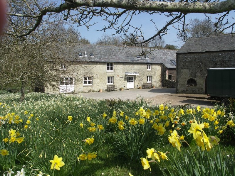 Luxury 5* Gold Award self-catering converted barn in rural setting Isle of Wight, Ferienwohnung in Godshill
