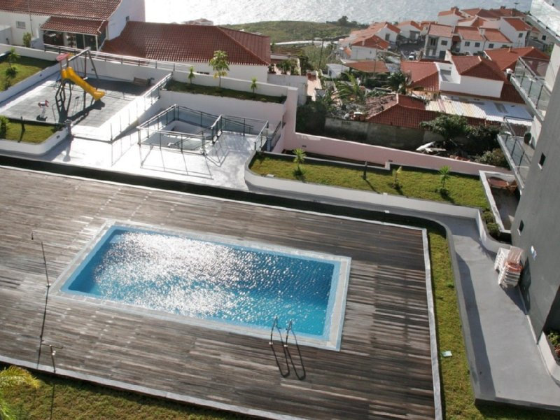Luxury, modern and spacious home4you with pool/sea view in Garajau/Caniço, holiday rental in Canico