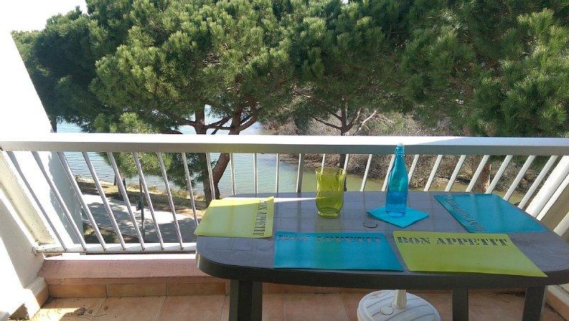 STUDIO 23 M² SUPERBE VUE LAC DU PONANT, holiday rental in La Grande-Motte