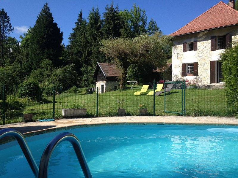 Large house in chartreuse, holiday rental in La Sure en Chartreuse