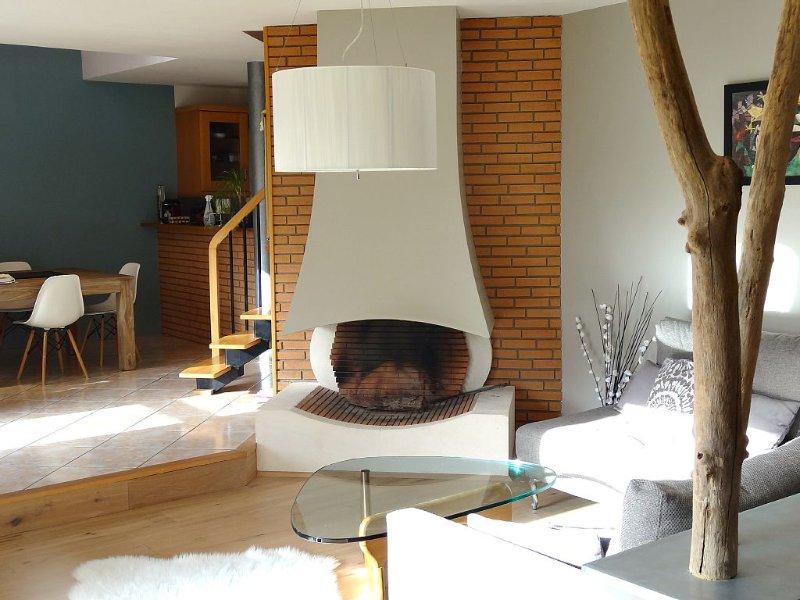 Confortable et calme, maison de centre-ville avec piscine, jardin  orienté sud., alquiler de vacaciones en Sulniac