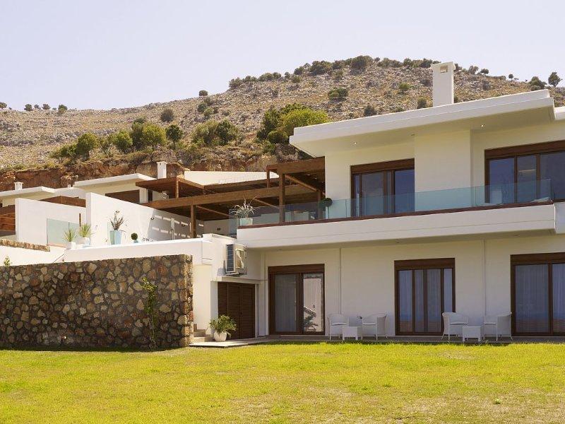 Villa Eos près de Lindos avec piscine privée chauffée et vue Villa de vacances à Lindos