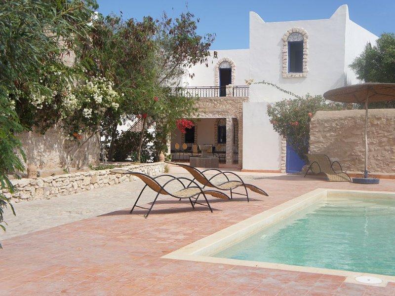 Maison avec jardin fleuri et arboré, location de vacances à Essaouira