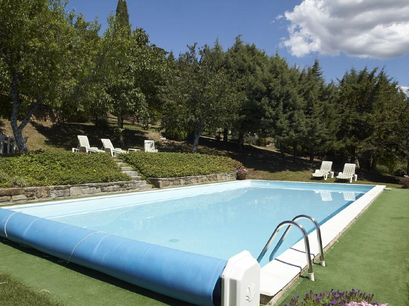 Fabulous Tuscan Farmhouse With Private Pool And Spectacular Views, holiday rental in Dicomano