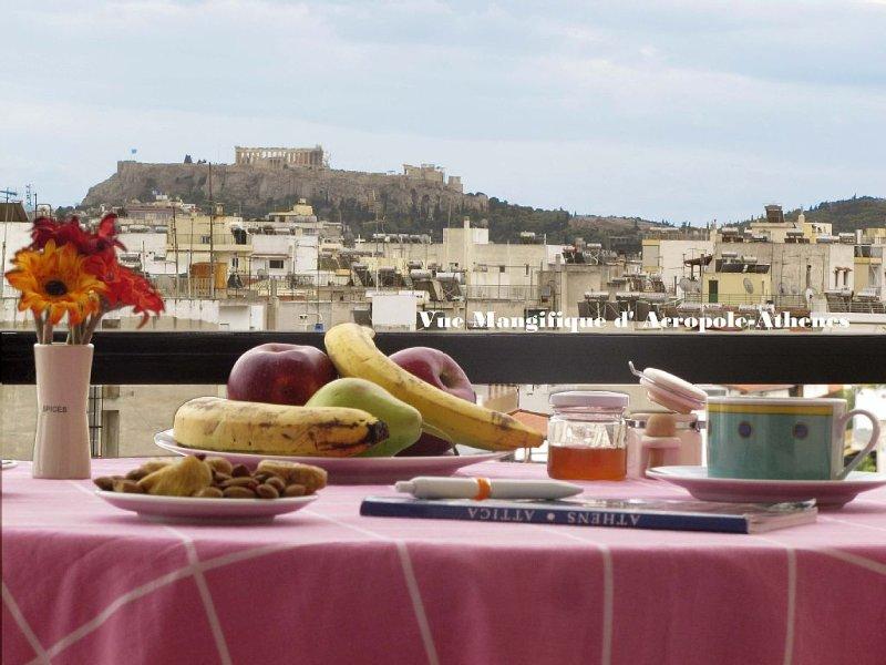 Vue Magnifique d' Acropole