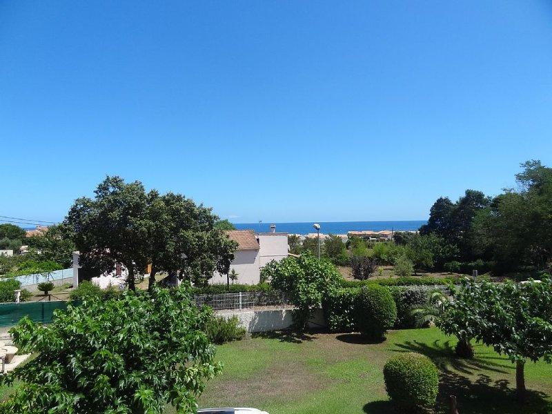 Superbe duplex T3 climatisé avec Terrasse Vue mer, à 300 m de la plage, casa vacanza a Poggio-Mezzana