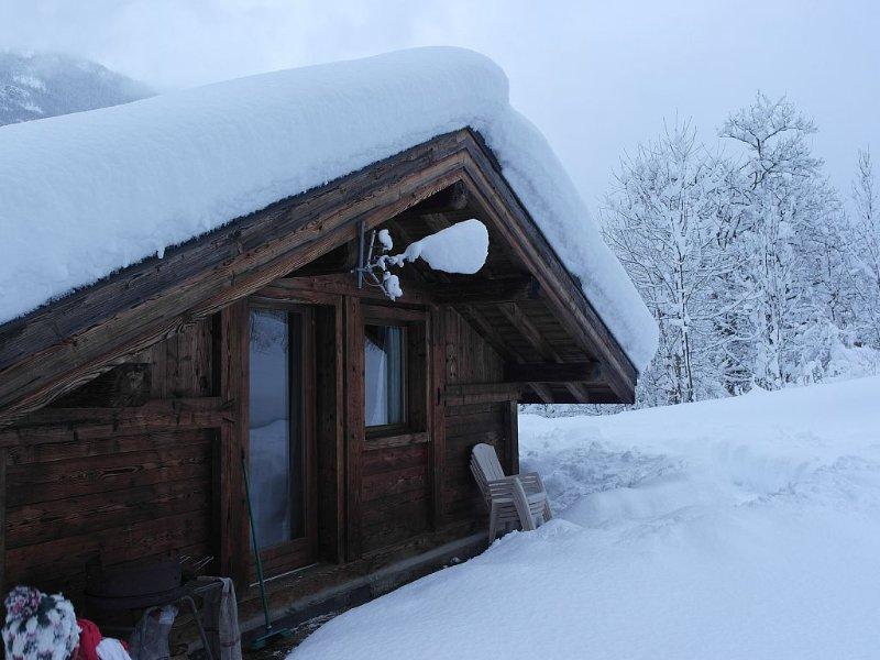 Un chalet juste pour vous 2 au calme! A tout de suite!, location de vacances à Haute-Savoie