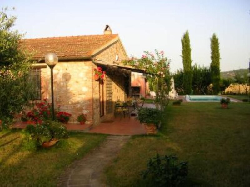 Basse Di Caldana: Maremma - Villa con piscina, holiday rental in Tirli