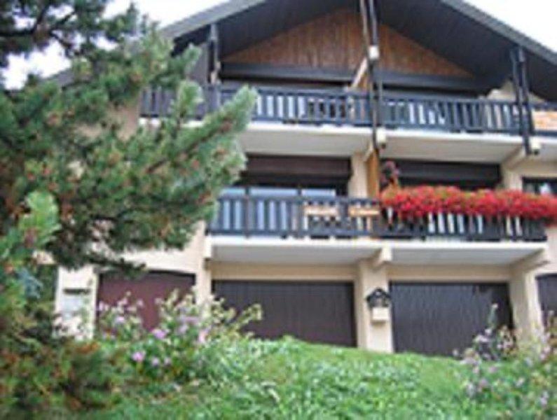 appartement classé 3 étoiles dans chalet centre station, vacation rental in L'Alpe-d'Huez