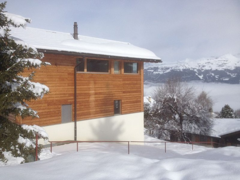 Vercorin: chalet 'Champignac' tout confort et lumineux, holiday rental in Granges