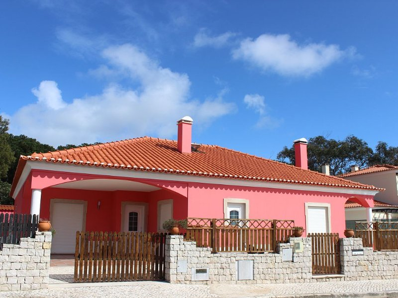 Vivenda privada com piscina a 5 min da praia e golfe em condominio de luxo, casa vacanza a Casais de Mestre Mendo