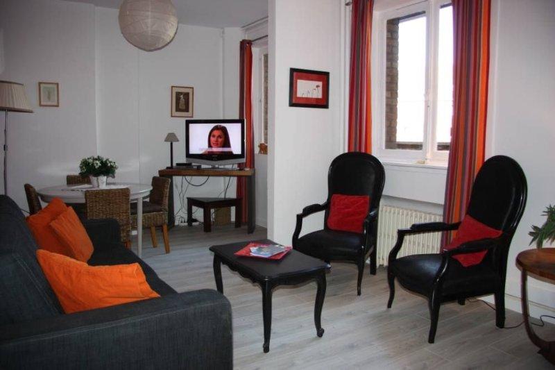 Appartement 60 m2 au cœur du Vieux-Lille, location de vacances à Lille