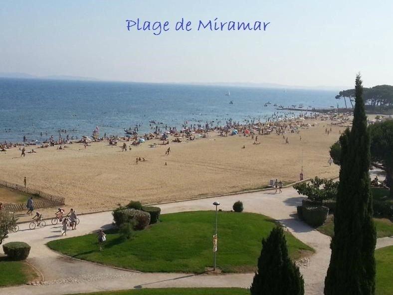 Appartement 3*** dans résidence bord de mer, acces direct plage, vue mer, vacation rental in La Londe Les Maures
