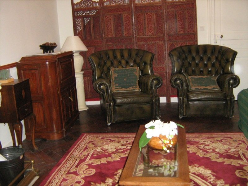 Lounge with period furniture