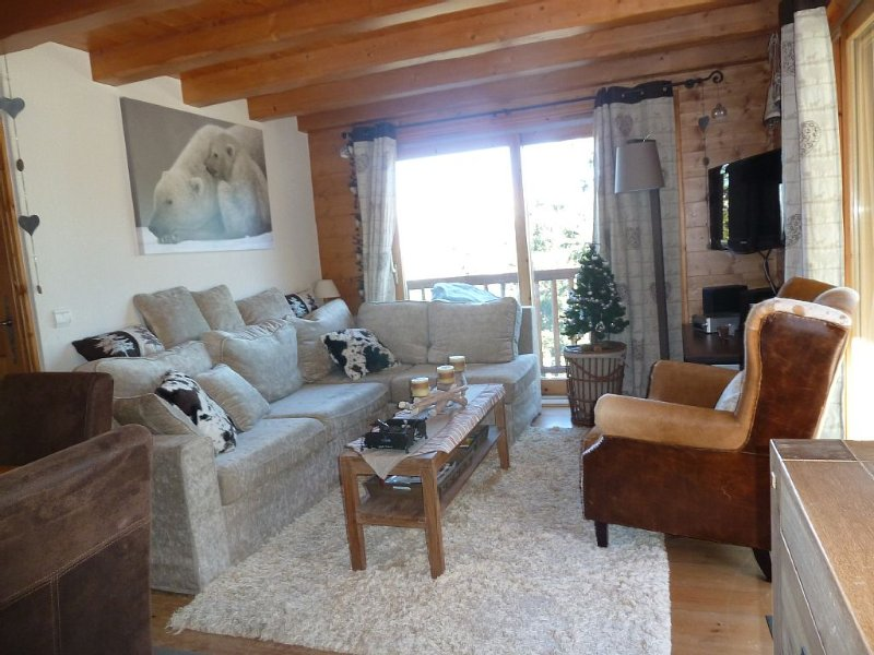 Arcs 1800 cozy apartment in a luxury chalet, holiday rental in Les Arcs