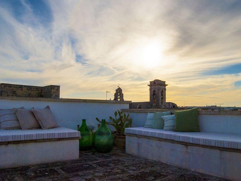 Palazzotto nel Salento vicino al Mare, location de vacances à Montesano Salentino