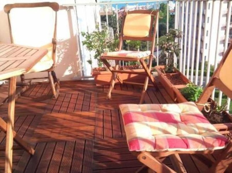 T2 50m2 vue mer. Parking Terrasse  et Linge fourni., vacation rental in Biarritz