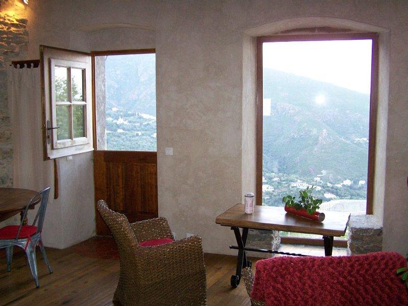 Authentique gîte rustique de village., location de vacances à Haute-Corse