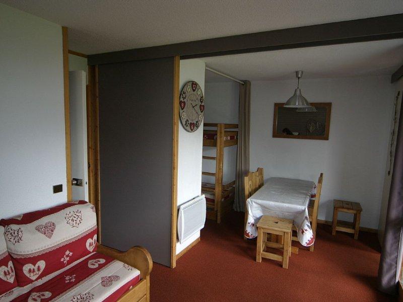 A BellePlagne - Beryl. Studio de 28 m² - 5/6 pers. Entièrement rénové en 2013, holiday rental in Belle Plagne