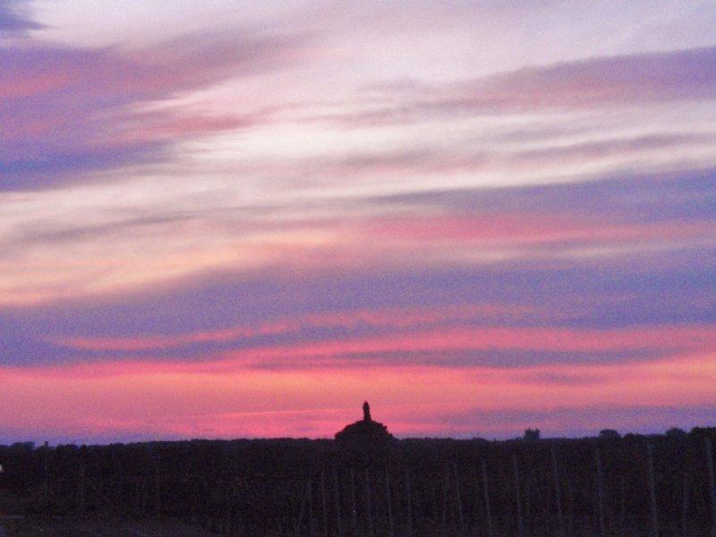 Sunset over Francavilla Fontana
