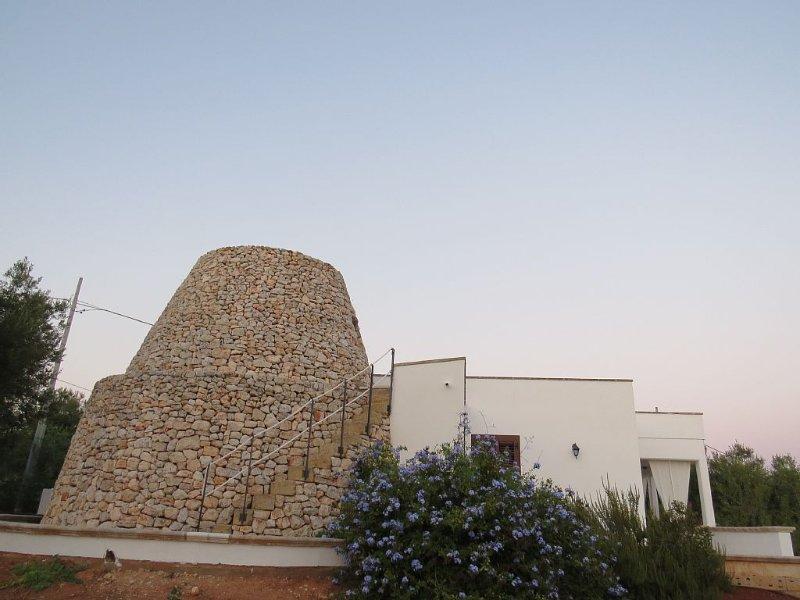 Villa con pajara vista mare circondata da ulivi secolari, casa vacanza a Morciano di Leuca