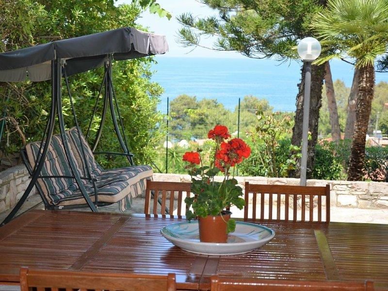 vista mare dalla veranda coperta