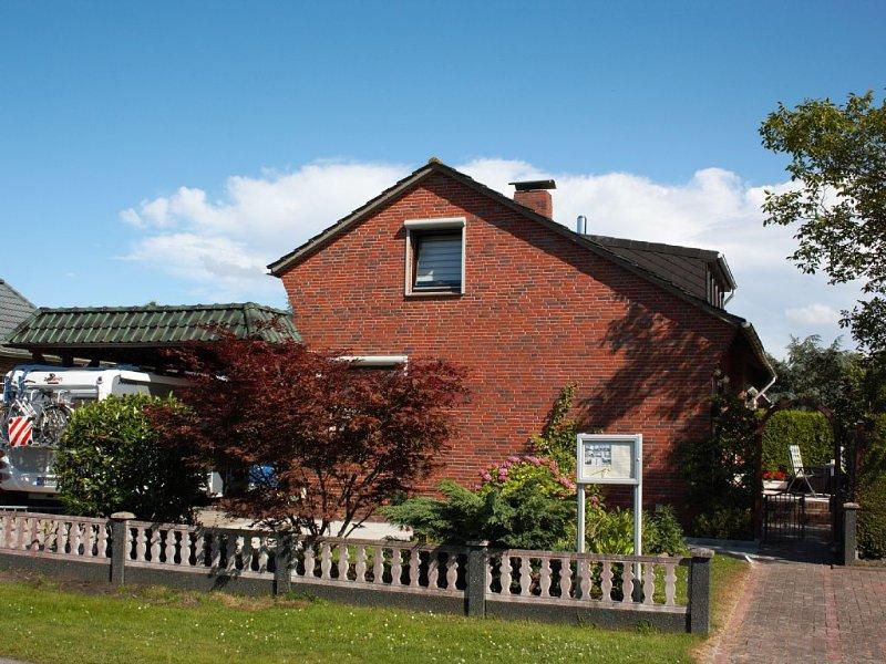 3 Sterne-Wohnung für 2-3 Personen. Haustier erlaubt., location de vacances à Butjadingen