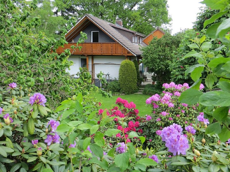 Fewo für 4 Pers, Nordheide nahe Hamburg, Fahrräder vorhanden,Haustiere möglich, vacation rental in Hanstedt