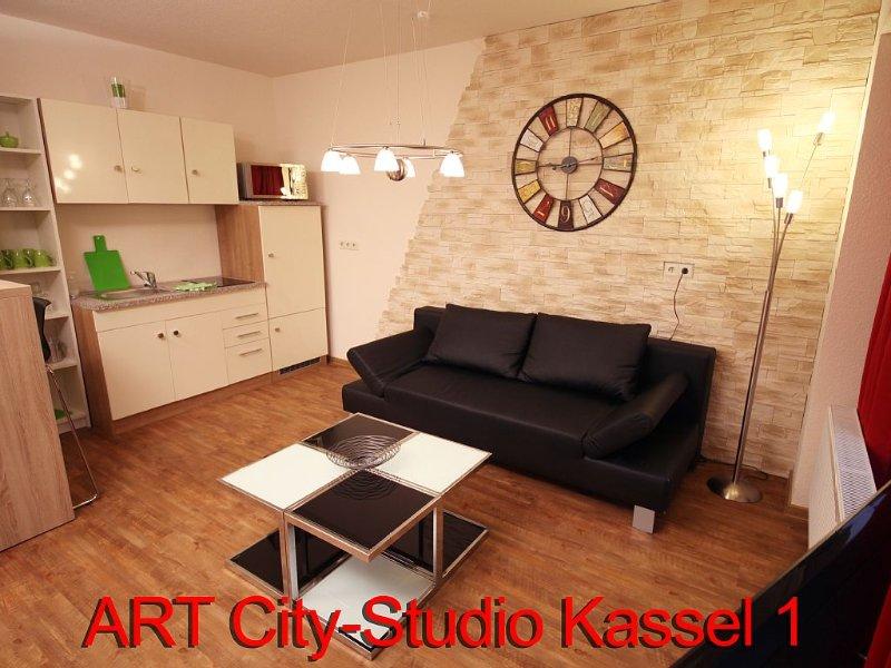 Exklusives, ruhiges City-Apartment in zentraler DOCUMENTA-Top-Lage Kassels, aluguéis de temporada em Niestetal