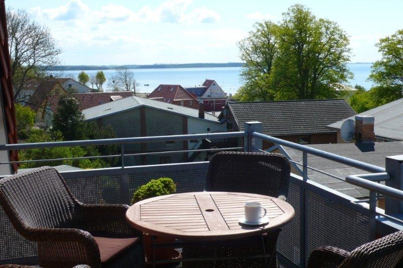Komfort-Ferienwohnung mit Seeblick, Balkon, strand- u. einkaufsnah, ruhig, WLAN, casa vacanza a Rerik