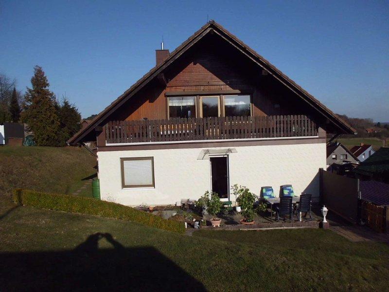 Ferienwohnung Angela, ländliche Idylle, W-LAN, holiday rental in Zorge