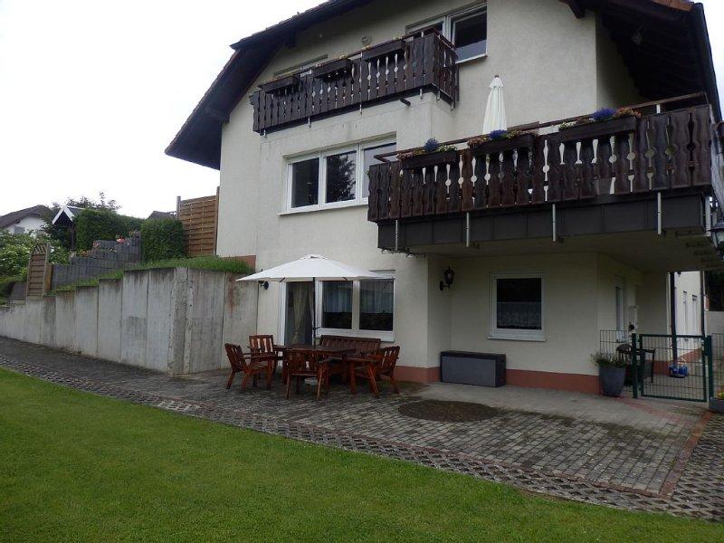 Sehr schöne Ferienwohnung im Nationalpark Hunsrück-Hochwald /Idar Oberstein, alquiler de vacaciones en Wolfstein