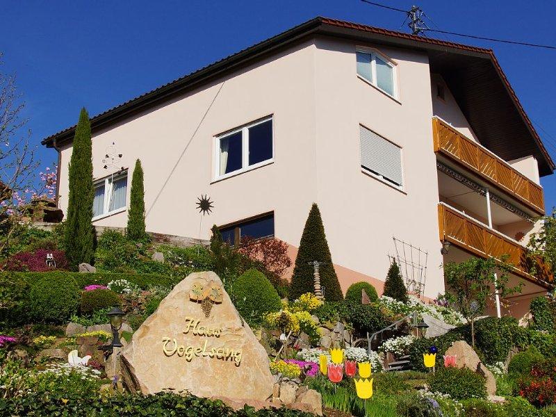 'An der Pforte des Schwarzwalds' attraktive 4 Sterne Wohnung mitten im Weinberg, holiday rental in Durbach