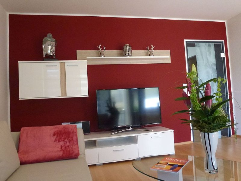 In 2014 komplett renovierte,helle und geschmackfoll eingerichtete 2Zimmerwohnung, vakantiewoning in Sipplingen